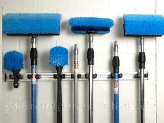 Wandhalterung für Waschbürsten und Stiele